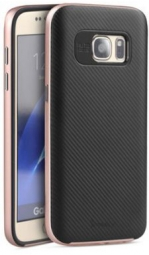Чехол iPaky TPU+PC для Samsung G930F Galaxy S7 (Rose Gold)