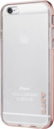 Бампер LAUT EXO-FRAME Aluminium bampers для iPhone 6 Plus/6S Plus - Rose Gold (LAUT_IP6P_EX_RG)