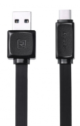 Кабель Remax USB Type-C Fast Data 1м Black (314754)