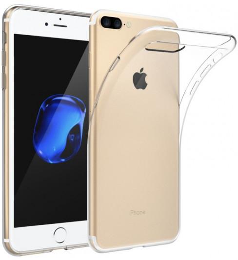 """TPU чехол EGGO для Apple iPhone 7 Plus (5.5"""") (Бесцветный (прозрачный))"""