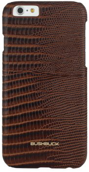 Чехол Bushbuck BARONAGE LIZARD Genuine Leather for iPhone 6/6S (Brown) - ITMag