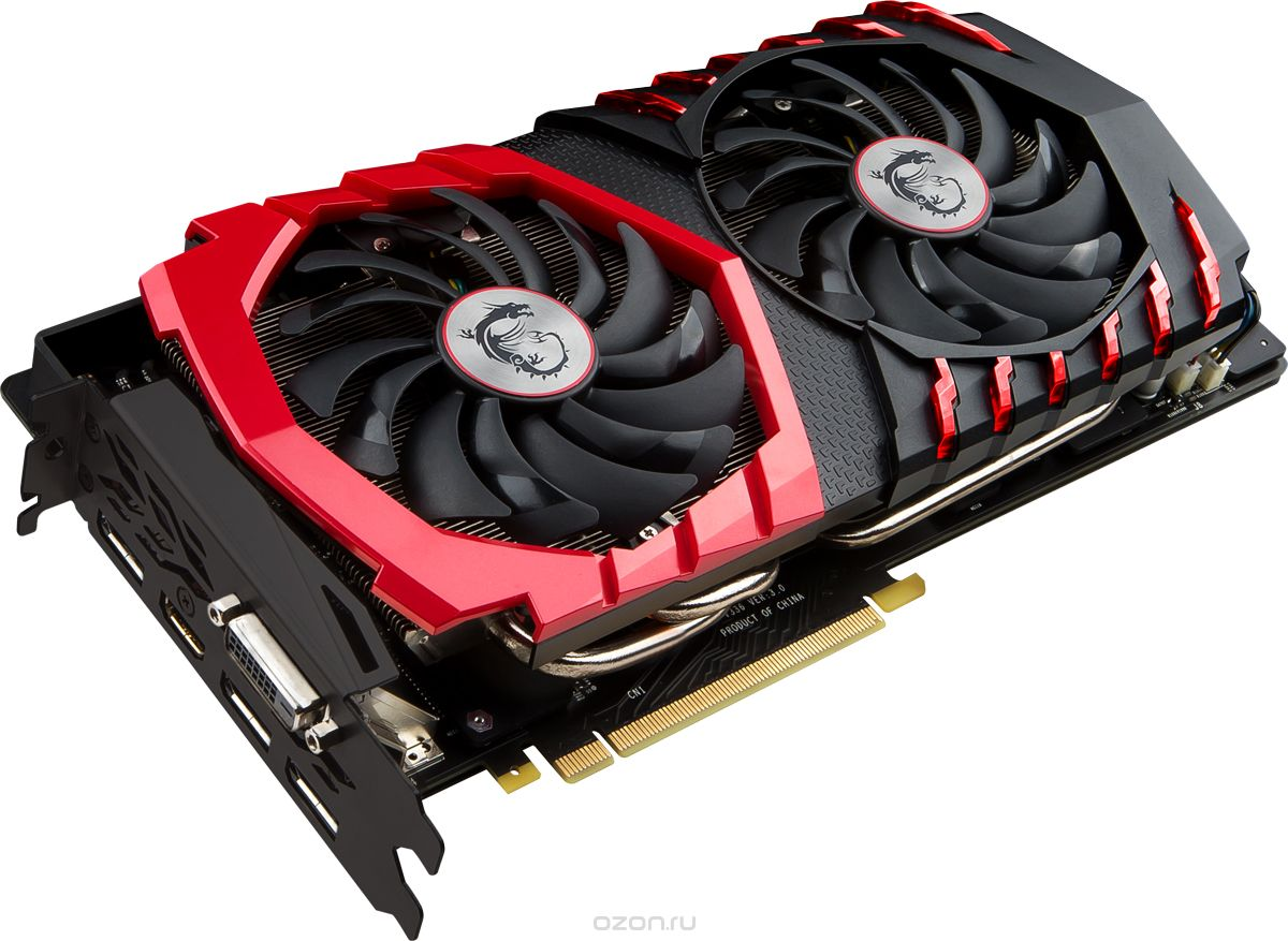 Купить MSI GeForce GTX 1080 GAMING X 8G