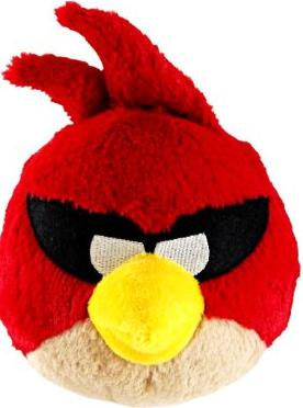 "Angry Birds 5"" Space Red Bird Plush with sound - ITMag"