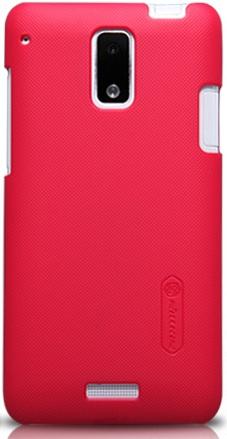 Чехол Nillkin Matte для HTC J(Z321e) (+пленка) (Красный)