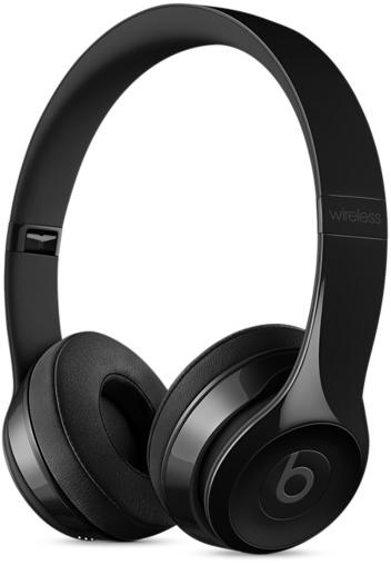 Beats by Dr. Dre Solo 3 Wireless On-Ear Headphones Gloss Black (MNEN2)