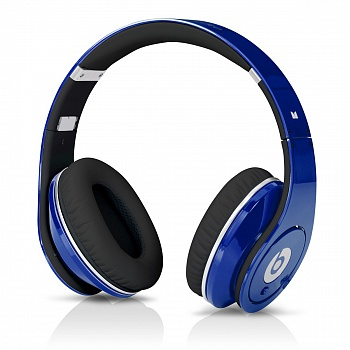 Monster Beats by Dr. Dre Studio Blue Original - ITMag