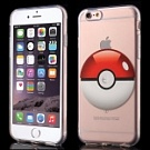 TPU чехол EGGO Pokemon Go для iPhone 6/6S (Poke Ball (прозрачный)) - ITMag