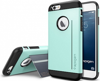 "Чехол SGP Case Slim Armor S Series Mint for iPhone 6/6S (4.7"") (SGP10960) - ITMag"