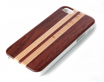 Чехол JUSNEY Bamboo Case для iPhone 5/5S Red Sport - ITMag