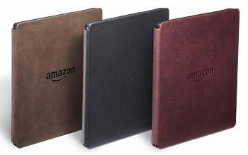 Amazon Kindle Oasis with Leather Charging Cover Black - ITMag