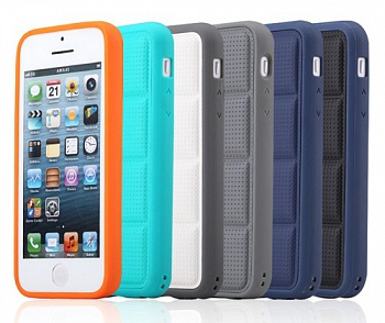 TPU чехол ROCK Matts Series для Apple iPhone 5/5S (Синий / Dark Blue) - ITMag