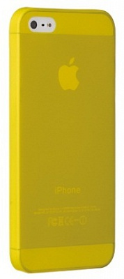 Ozaki O!coat 0.3 Jelly Yellow for iPhone 5/5S (OC533YL) - ITMag