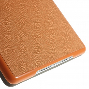 Чехол EGGO для iPad Air 2 Cross Texture Origami Stand Folio - Orange - ITMag
