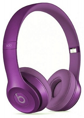 Beats by Dr. Dre Solo2 On-Ear Headphones Royal Collection Imperial Violet (MJXV2) (Original) - ITMag