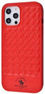 POLO Ravel (Leather) iPhone 12/12 Pro (red) - ITMag