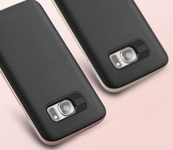 Чехол iPaky TPU+PC для Samsung G930F Galaxy S7 (Rose Gold) - ITMag