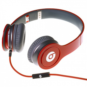 Monster Beats by Dr. Dre Solo HD Red - ITMag