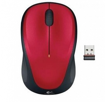 Logitech M235 Wireless Mouse Red (910-002497) - ITMag