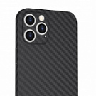 Wiwu Skin Carbon Ultra Thin Case for iPhone 12 Pro/12 (6,1) Black - ITMag