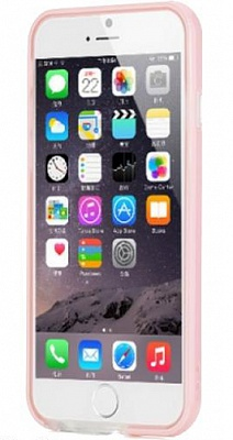 "Бампер ROCK Duplex Slim Guard для Apple iPhone 6/6S (4.7"") (Розовый / Pink) - ITMag"