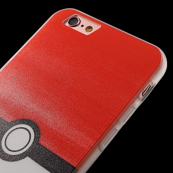 TPU чехол EGGO Pokemon Go для iPhone 6/6S (Pokeball) - ITMag