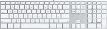 Apple Keyboard Aluminium (MB110) - ITMag