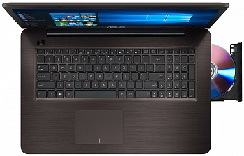 ASUS X756UQ (X756UQ-T4130D) Dark Brown - ITMag