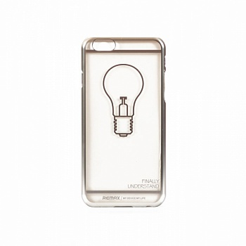 Чехол Remax для iPhone 6/6S Insperation Silver - ITMag