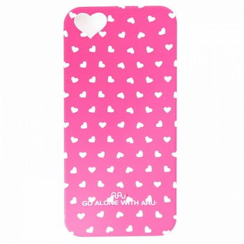 Чехол ARU для iPhone 5S Hearts Rose - ITMag
