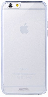 Чехол Remax для iPhone 6/6S 0.5mm White PC - ITMag