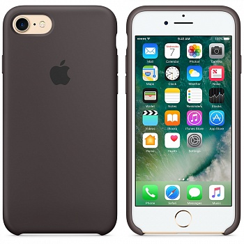 Apple iPhone 7 Silicone Case - Cocoa MMX22 - ITMag