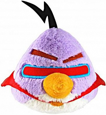 "Angry Birds 5"" Space Purple Bird Plush with sound - ITMag"