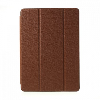 Чехол Crazy Horse Tri-fold with Wake Up for Samsung Galaxy Note 10.1 (2014) P600/P601/P605 Brown - ITMag