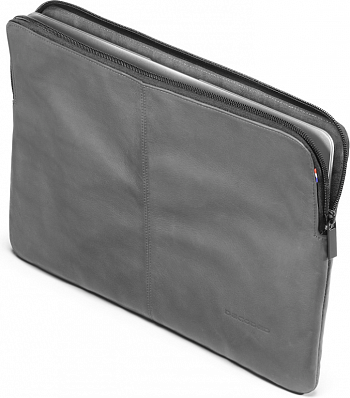 "Чехол Decoded Leather Sleeve with Zipper Iron Gray for MacBook Air 11"" (D3SZ11CG) - ITMag"