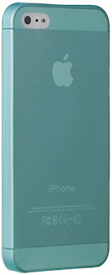 Ozaki O!coat 0.3 Jelly Cyan for iPhone 5/5S (OC533CY) - ITMag