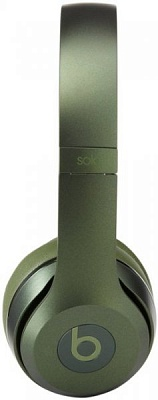 Beats by Dr. Dre Solo2 On-Ear Headphones Royal Collection Hunter Green (MHNX2) (Original) - ITMag