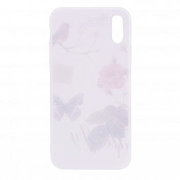 "TPU чехол OMEVE Pictures для Apple iPhone X (5.8"") (Butterfly) - ITMag"