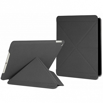 Cygnett Paradox Texture Flexi-folding folio case for iPad Air Charcoal (CY1325CIPTE) - ITMag