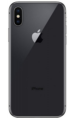 Apple iPhone X 64GB Space Gray (Grade A+) with accessories - ITMag