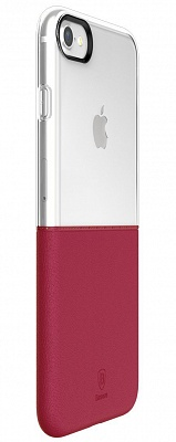 Чехол Baseus Half to Half Case For iPhone7 Wine red (WIAPIPH7-RY09) - ITMag