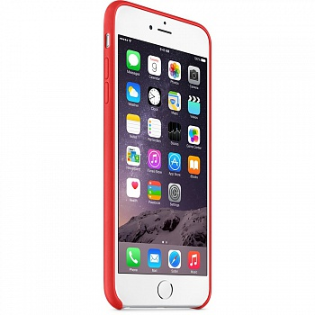 Apple iPhone 6 Plus Leather Case - Red MGQY2 - ITMag