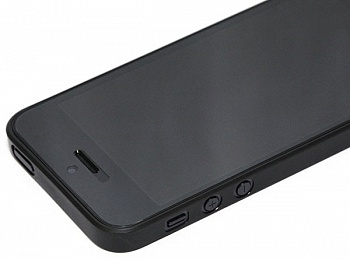 Ozaki O!coat 0.3 Jelly Black for iPhone 5/5S/SE (OC530BK) - ITMag