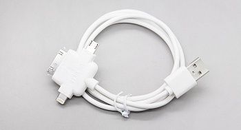 Кабель EGGO универсальный Lightning iOS7/MicroUSB/30-pin Apple/30-pin Samsung - ITMag