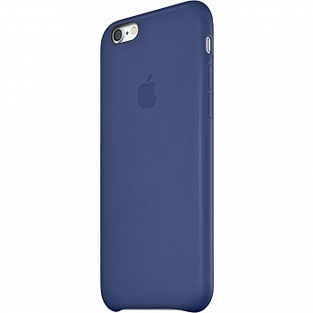 Apple iPhone 6 Leather Case - Midnight Blue MGR32 - ITMag