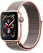 Apple Watch Series 4 GPS 44mm Gold Aluminum w. Pink Sand Sport Loop - Gold (MU6G2) - ITMag, фото 1
