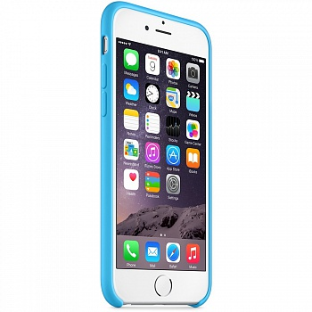 Apple iPhone 6 Silicone Case - Blue MGQJ2 - ITMag