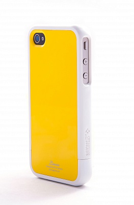 Чехол для iPhone 4/4S SGP Linear Color Series Lime - ITMag