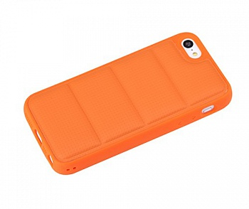 TPU чехол ROCK Matts Series для Apple iPhone 5/5S (Оранжевый / Orange) - ITMag