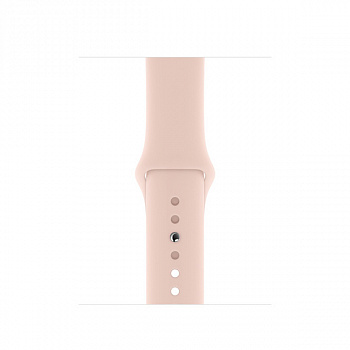 Apple Watch SE GPS 40mm Gold Aluminum Case w. Pink Sand Sport B. (MYDN2) - ITMag