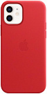Apple iPhone 12 | 12 Pro Leather Case with MagSafe - PRODUCT RED (MHKD3) Copy - ITMag